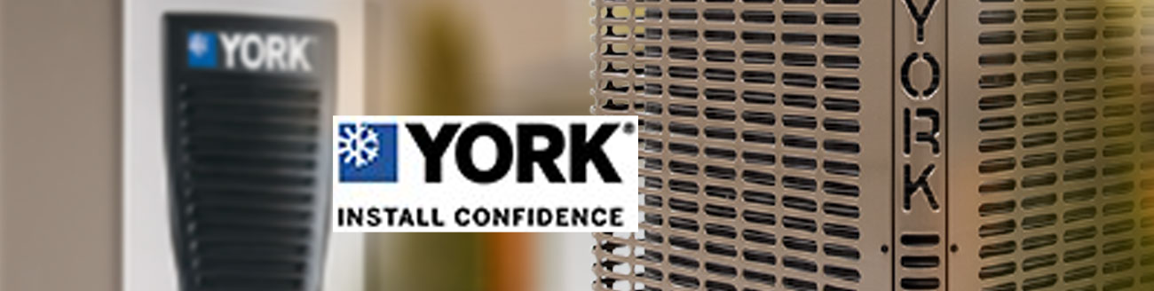 Ed's Heating & Cooling installs and repairs York air condition and heat pump